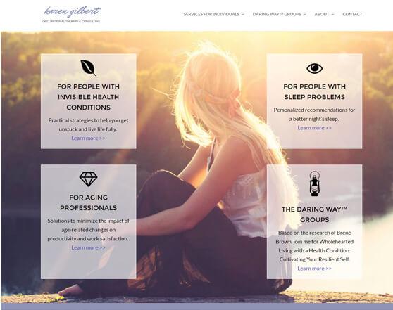 Karen Gilbert website