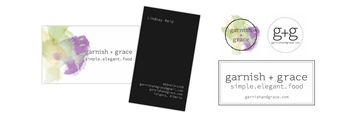 garnish + grace stationary