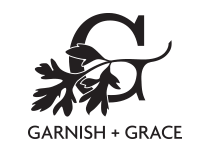 garnish + grace logo trials