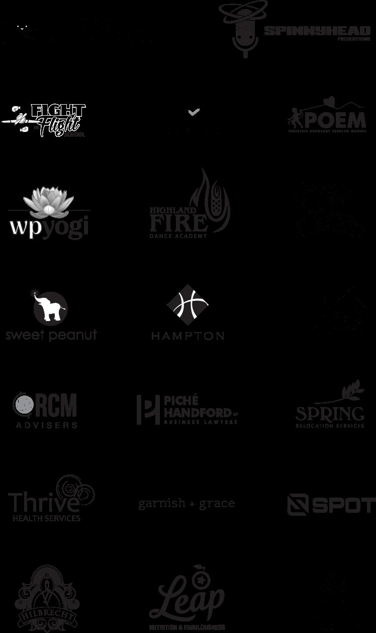 LV Creative selected logos